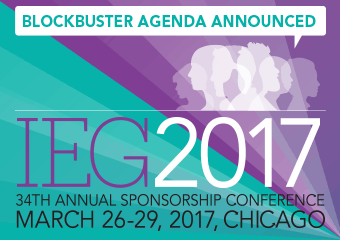 IEG 2017 Sponsorship Marketing Conference