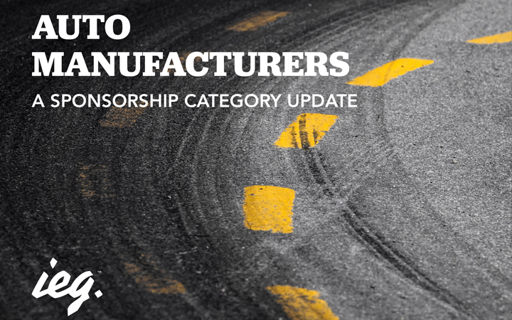 Auto Manufacturers: A Sponsorship Category Update