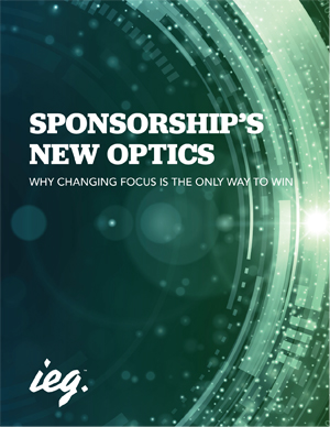 Sponsorship's New Optics: Why Changing Focus Is The Only Way To Win