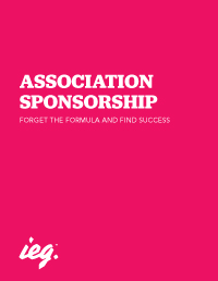 Association Sponsorship: Forget The Formula And Find Success