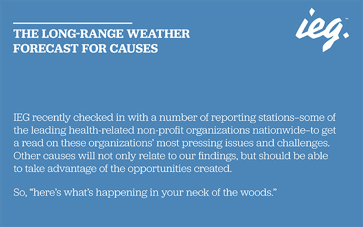 IEG's Long-range Weather Forecast for Causes