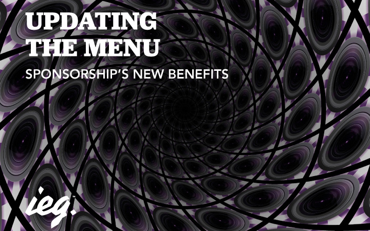 Updating The Menu: Sponsorship's New Benefits