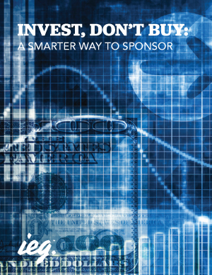 Invest, Don't Buy: A Smarter Way to Sponsor