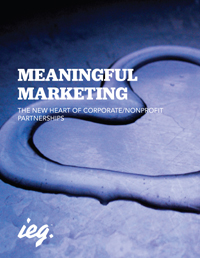 Meaningful Marketing: The New Heart of Corporate/Nonprofit Partnerships
