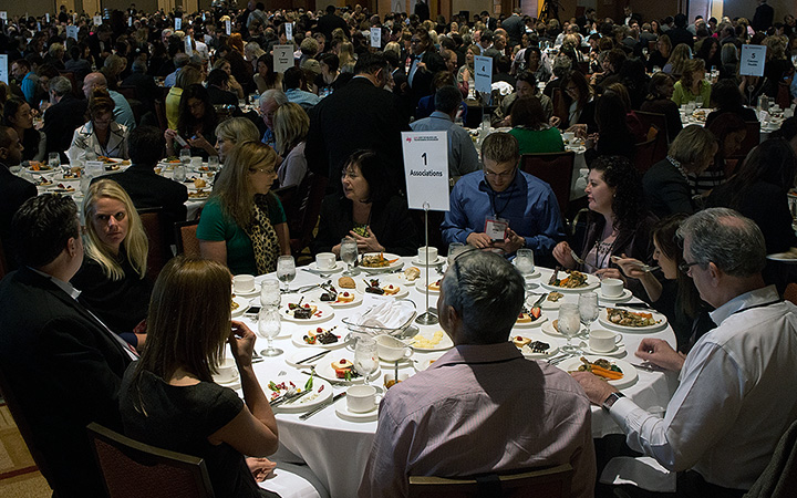 Topic- and Industry-specific Networking Luncheons